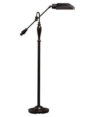 This decorative floor lamp comes with a beautiful bronze finish. Buy it here: http://www.bhg.com/shop/kichler-kichler-74190-floor-lamp-1lt-fluorescent-p50125b9782a797dc894779ad.html?socsrc=bhgpin091512shopblackfloorlamp
