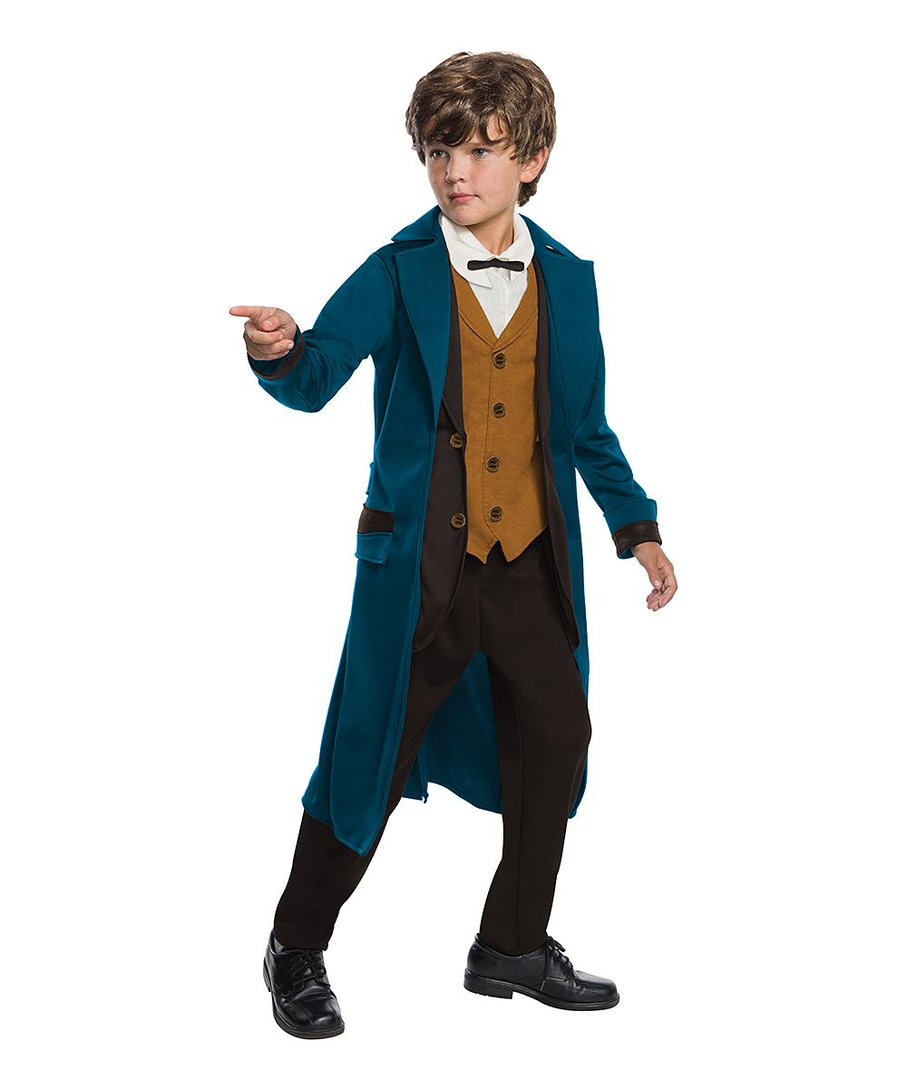 Fantastic Beasts Newt Scamander Deluxe Dress-Up Outfit - Kids · Halo HalloweenHalloween ...  sc 1 st  Pinterest & Fantastic Beasts Newt Scamander Deluxe Dress-Up Outfit - Kids ...