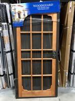 PRECISION Steel Security Door (Common: 35-in x 82-in ...