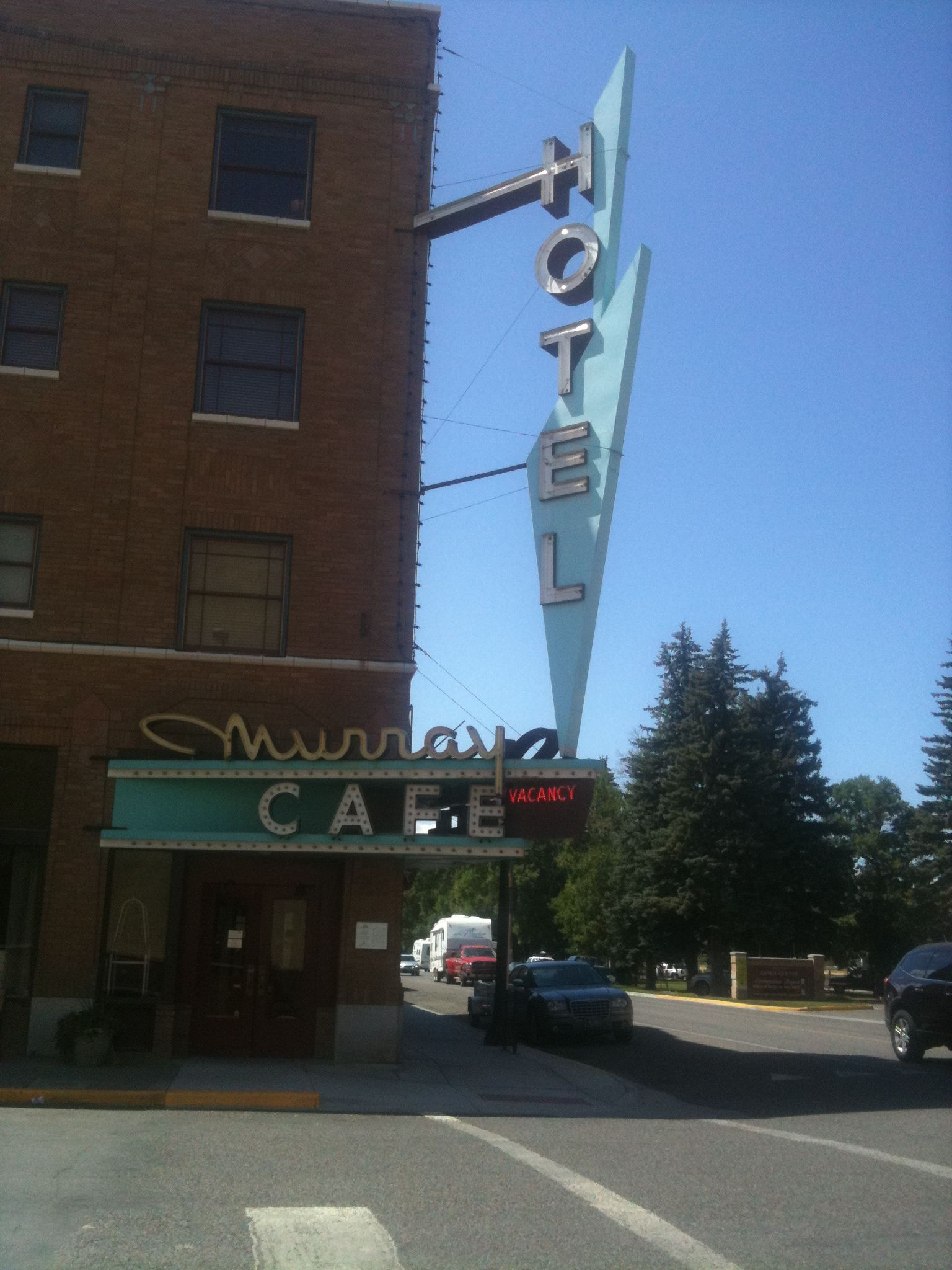The Murray Hotel/Cafe, Livingston, MT