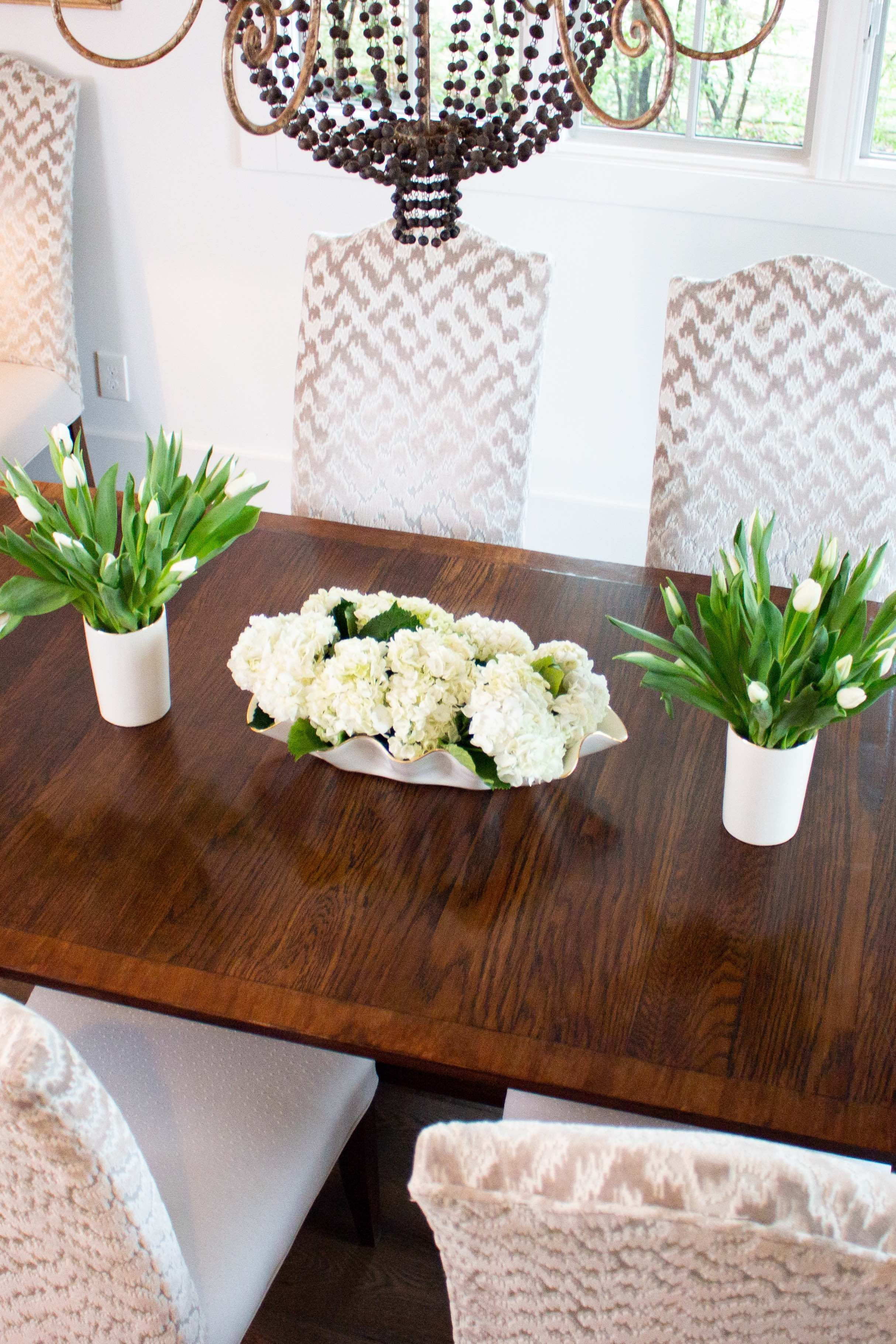 Styling A Dining Table Using Susan Gordon Pottery Susan Gordon Pottery Rectangle Table Centerpieces Dining Table Centerpiece Dining Table