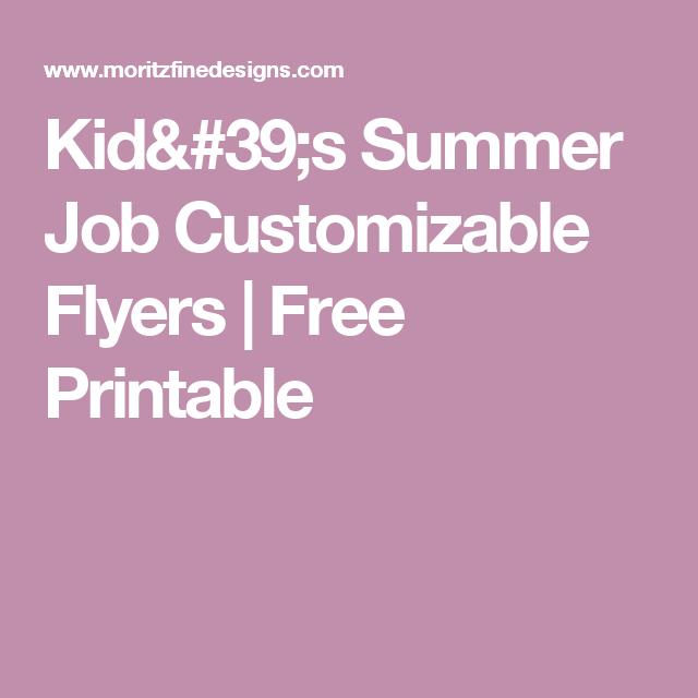 customizable flyers