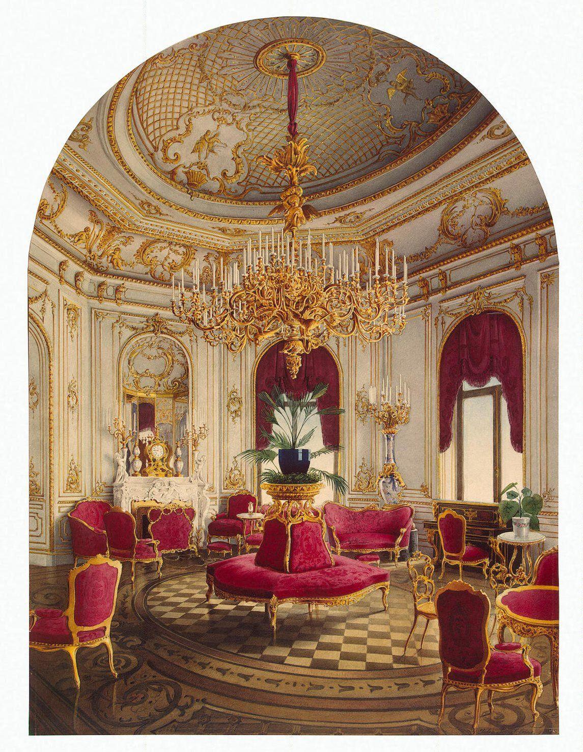 Inside the palace of count stroganov saint petersburg - Appartement reve saint petersbourg anton valiev ...