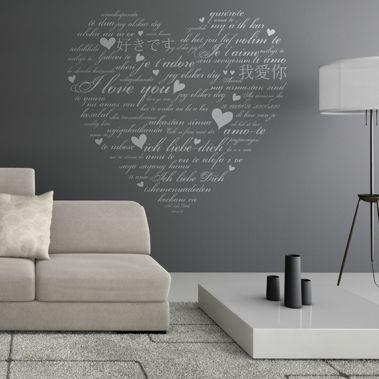 Epingle Sur Stickers Muraux Amour