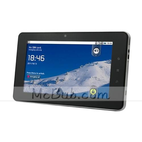7 inch C7 M708 Phone Tablet Qualcomm MSM7227-T Inbuilt 3G + GPS + Bluetooth Capacitive Multi-Touch http://www.mcbub.com/item/7-inch-C7-M708-Phone-Tablet-Qualcomm-MSM7227-T-Inbuilt-3G---GPS---Bluetooth-Capacitive-Multi-Touch--CN106733--140694/