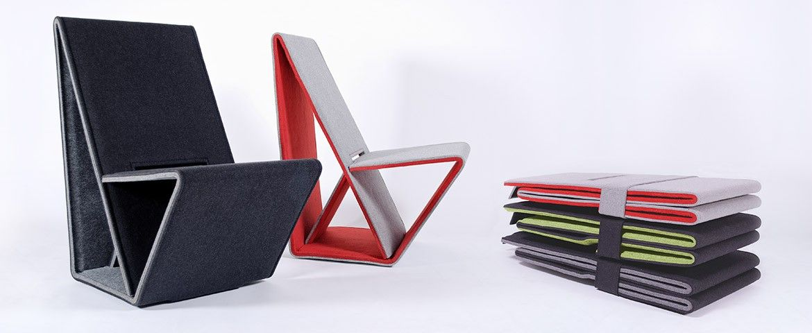 Vouwwow Folding Chair Out Of Recycled Materials Dise 241 O