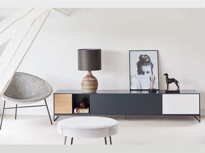 Lowboard Einrichtung Wohnzimmer modern Möbeldesign Pinterest