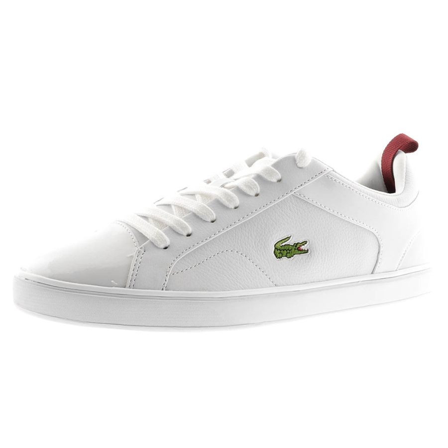 08f60e81227bb LACOSTE VENTRON NAL SPM TRAINERS FOR MEN IN WHITE WHITE - Lacoste Trainers  - MelMorgan