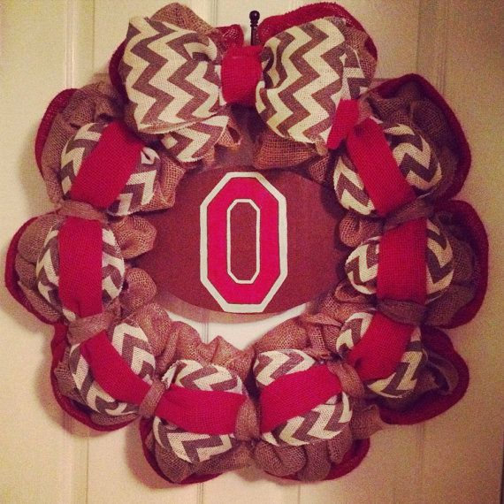 Hey, I found this really awesome Etsy listing at https://www.etsy.com/listing/199057167/ohio-state-wreath
