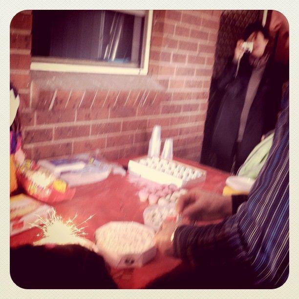 Jason + Shekinah's birthday party - 2011
