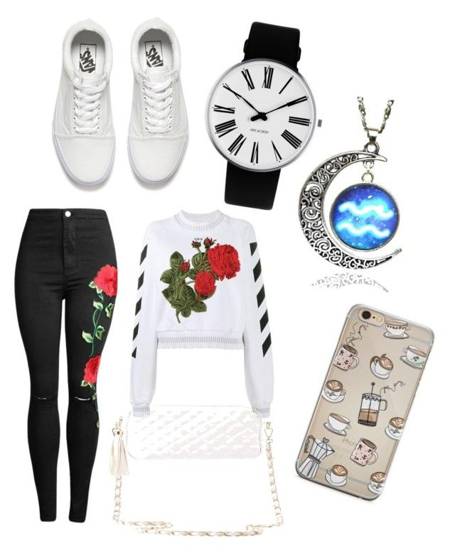 """kozii!!!"" by emi7070 ❤ liked on Polyvore featuring Off-White, Vans, Charlotte Russe and Rosendahl"