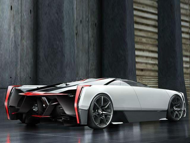 Cadillac Cien Supercar Concept Rear Wheel Drive Cadillac