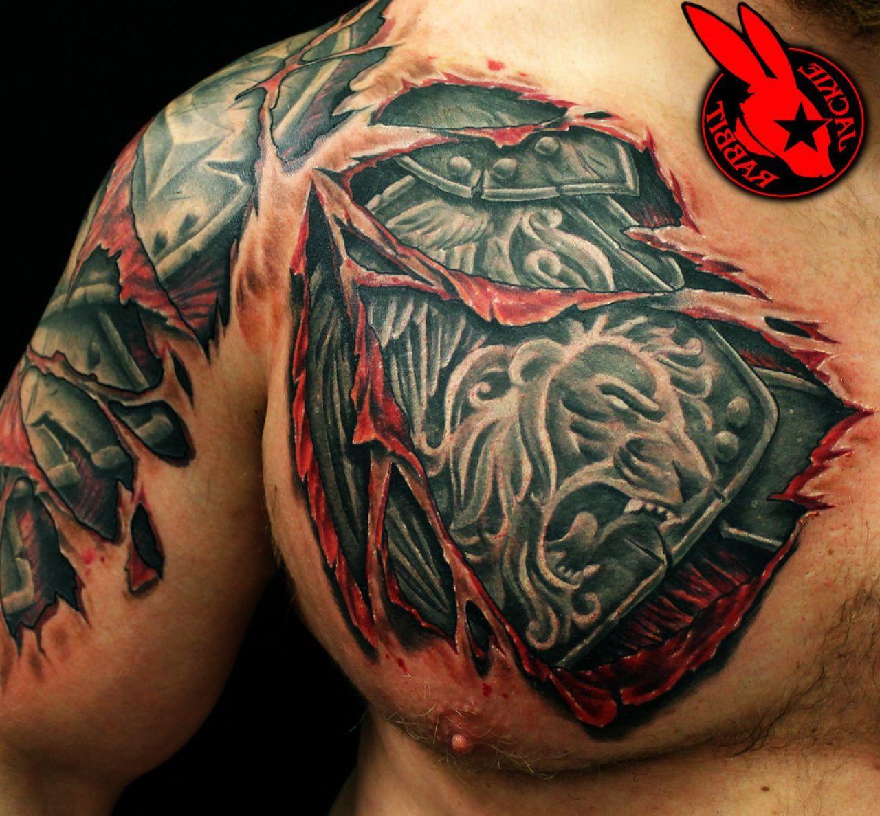 Tattoo For Men Shoulder: Mens Shoulder Armor - Google Search