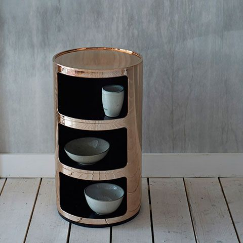 Copper Kartell Componibili Storage Unit   Storage   Treat Your Home   Home  Accessories