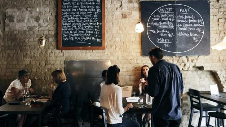 On the wagon: Melbourne's Embla wine bar offers several non-alcoholic options.