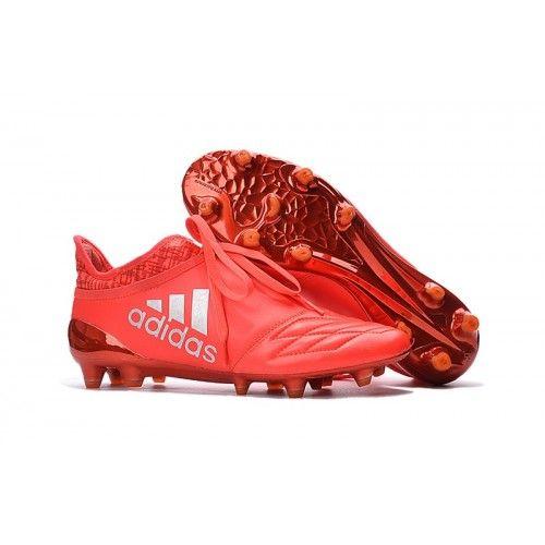 low priced e9302 64a82 ... canada adidas x 2016 adidas x 16 purechaos fg leather solar rojo plata  97376 cffb5 norway adidas football boots ...