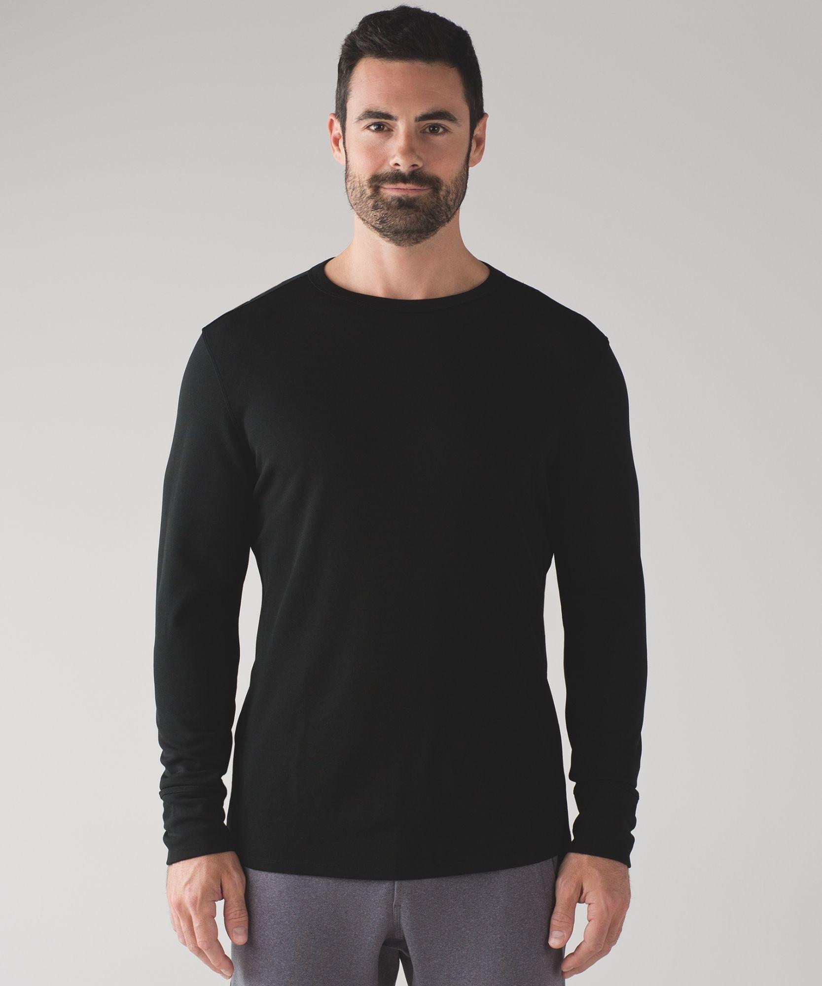 cbd768c318c7 Men's Long Sleeve - (Black, Size M) - Long Weekend Long Sleeve ...