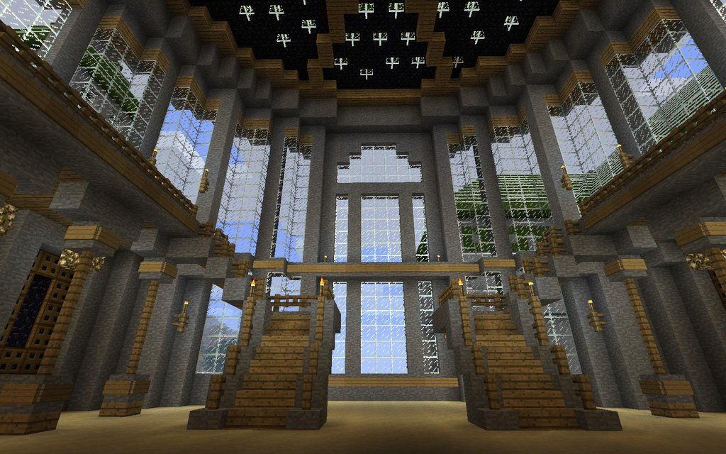 The Minecraft Castle … | Castle inner | Pinterest | Minecraft ...