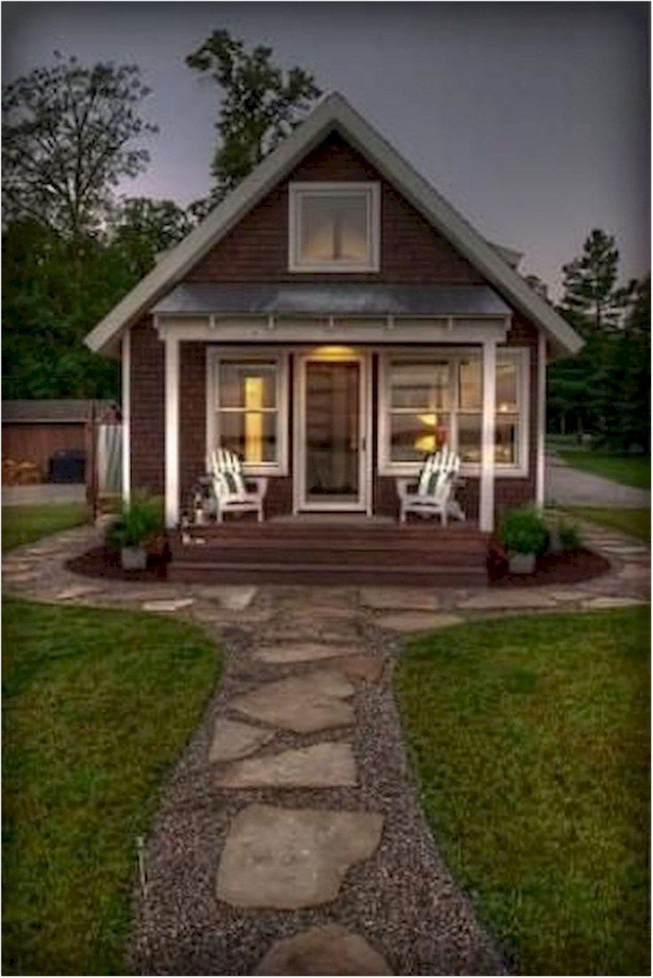 61 Tiny House Design In A Small Hut To Inspire The Design Of Your Happiness 4 Small Cottage Homes Tiny House Plans Small Cottages Small Cottage House Plans