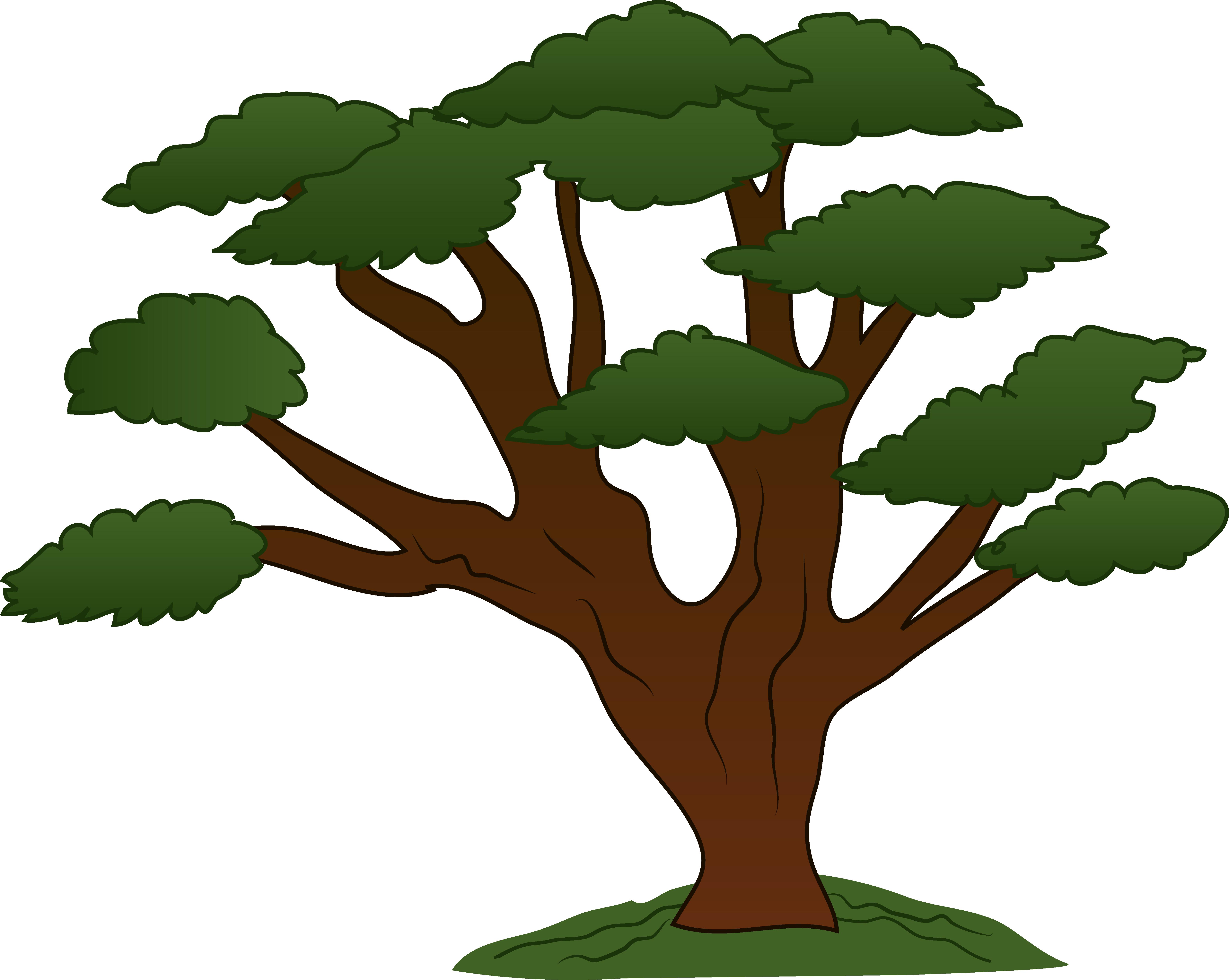 Tree Clip Art Oak Tree Clip Art Design Clip Art Tree Cartoon Images Clip Art Vintage