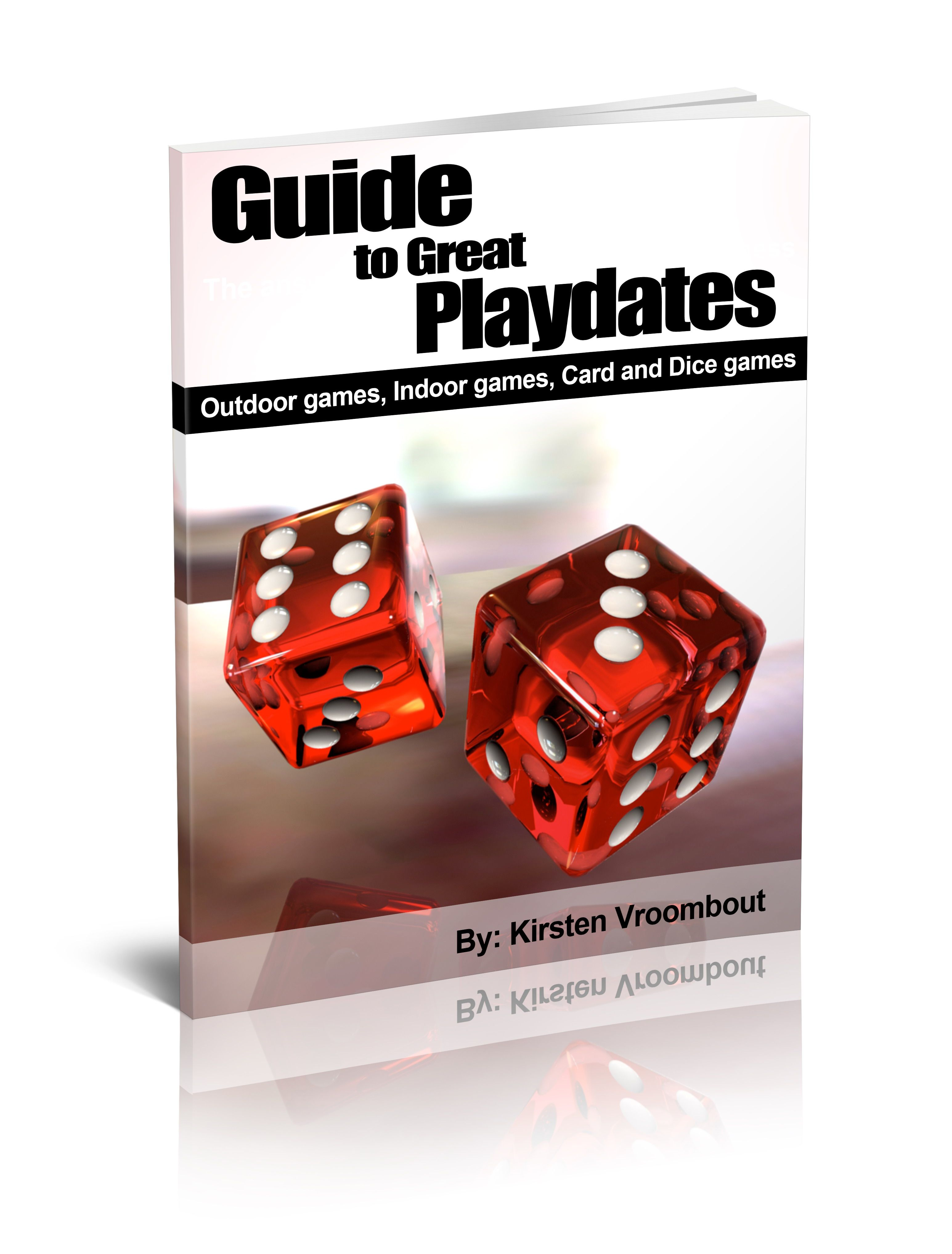 Outdoor games, indoor games, card and dice games for kids