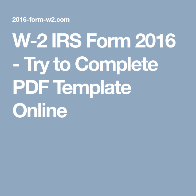 Try To Complete PDF Template Online