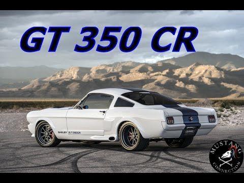Classic Recreations GT 350CR 1966 Mustang Fastback Jason Engel interview...