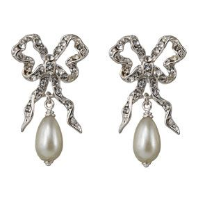 9e47446416b09 My Earrings | Our Wedding... | Earrings, Silver drop earrings, Pearl ...