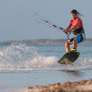 Aruba Kitesurfing Photography by Tony Filson