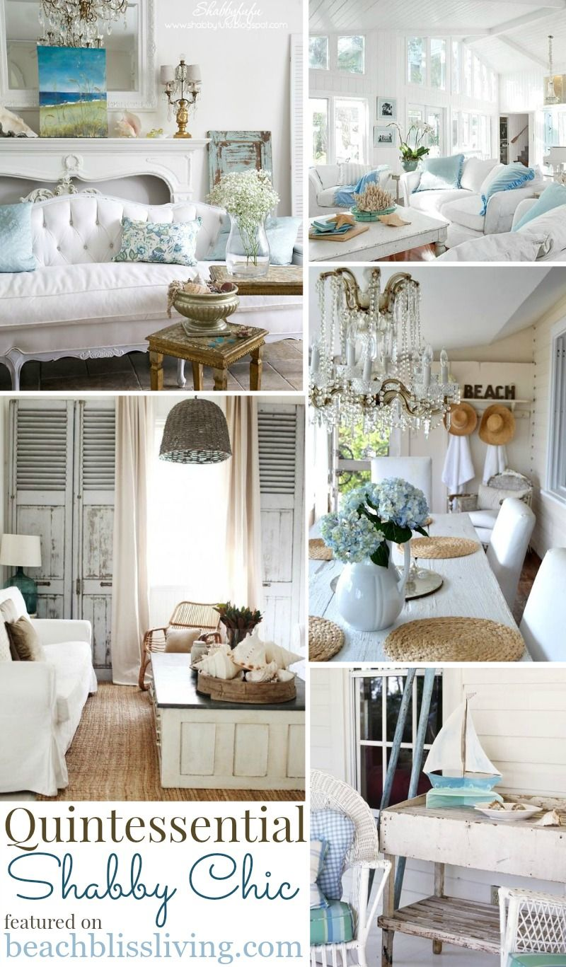 Shabby Chic Beach Decor Ideas For Your Beach Cottage Shabby Chic