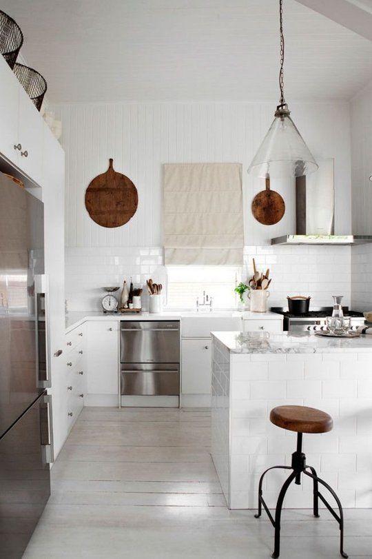 White Kitchen No Windows