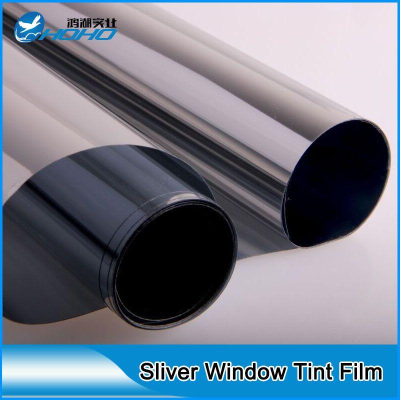 Best Seller Sliver Colour Solar Reflective Film Sun Control Window Film For Building Glass Heat Rejection Glass Film 1 Window Tint Film Window Film Glass Film