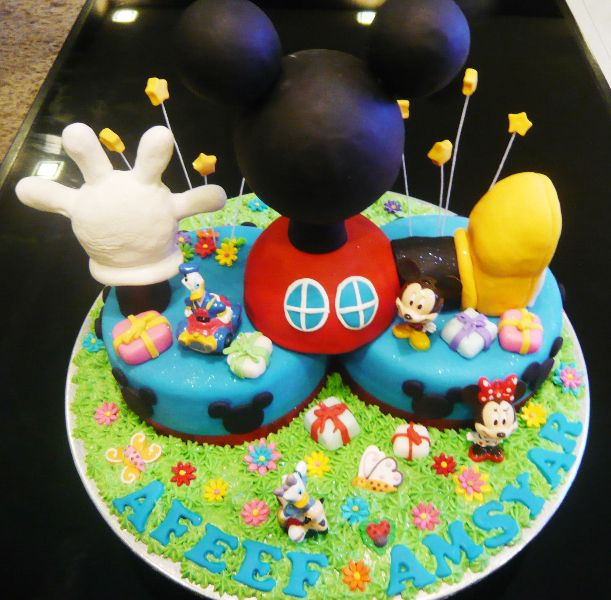 Mickeymouse Clubhouse Birthday Cake Cakes Singapore Children Theme Click On