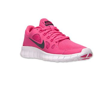 833509f07b44 Nike Free Run 5 Running Shoes Vivid Pink Black White  Pink  Womens  Sneakers