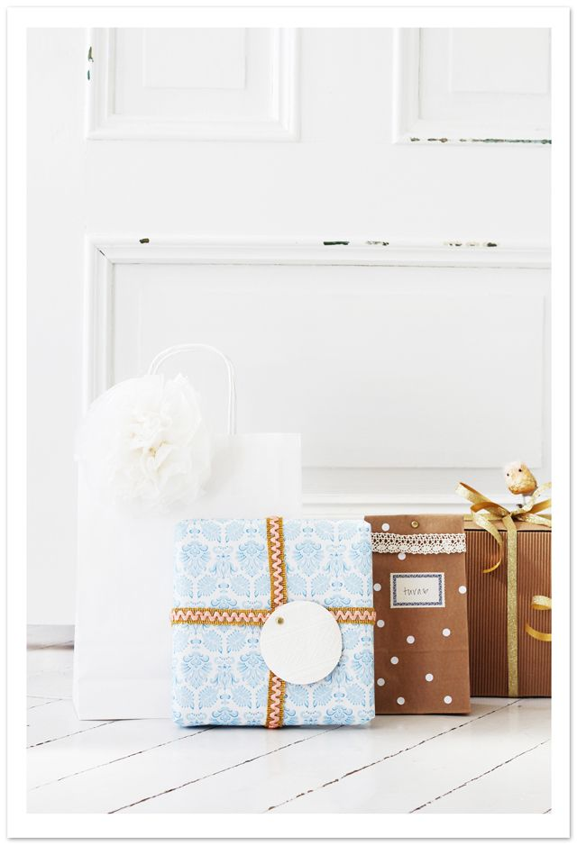 Beautiful gift wrap for all seasons from Fryd