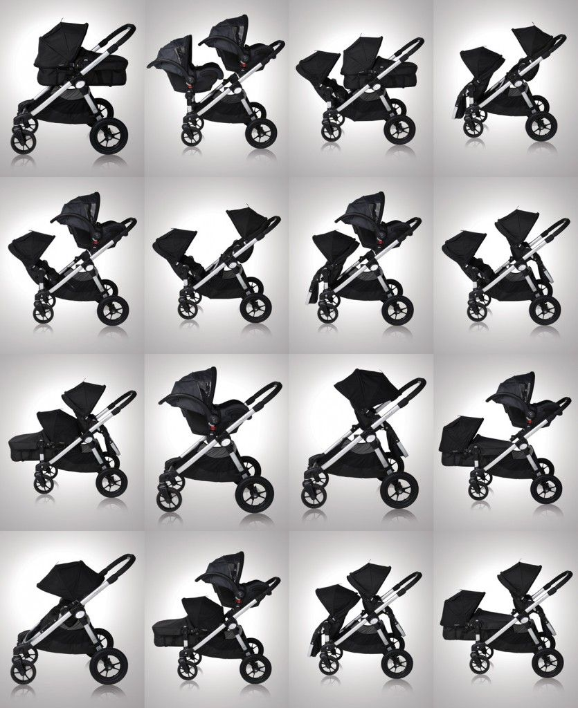 Baby Jogger City Select With Second Seat Attachment