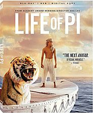 Life Of Pi Available On Blu Ray 3d Blu Ray And Dvd On March 12