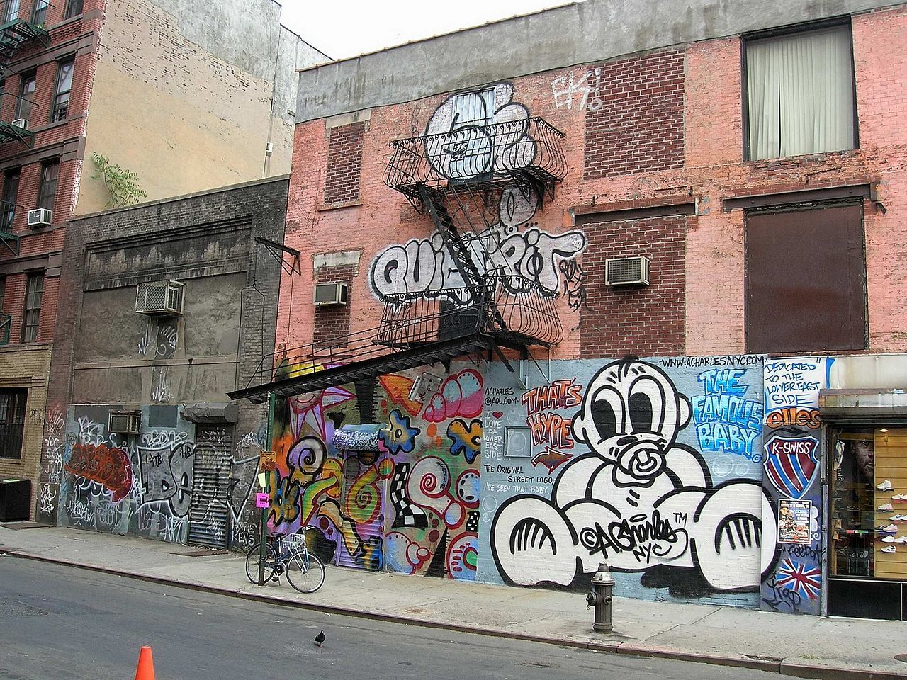Artist Andre Charles Graffiti Lower East Side Nyc