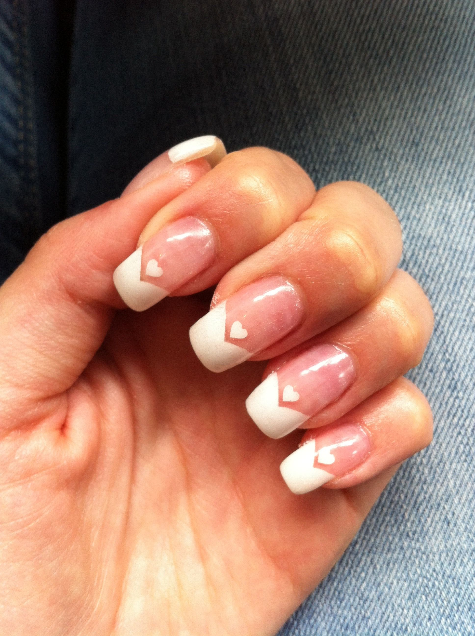 french style nail art | my own nail art | Pinterest | Style nails ...