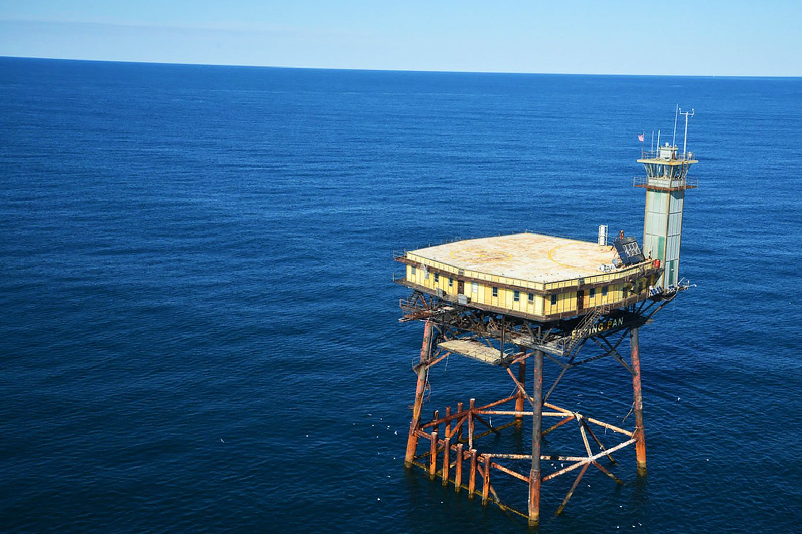 The Frying Pan Tower Is An Ex Coast Guard Lighthouse Turned Extreme Offs Hotel