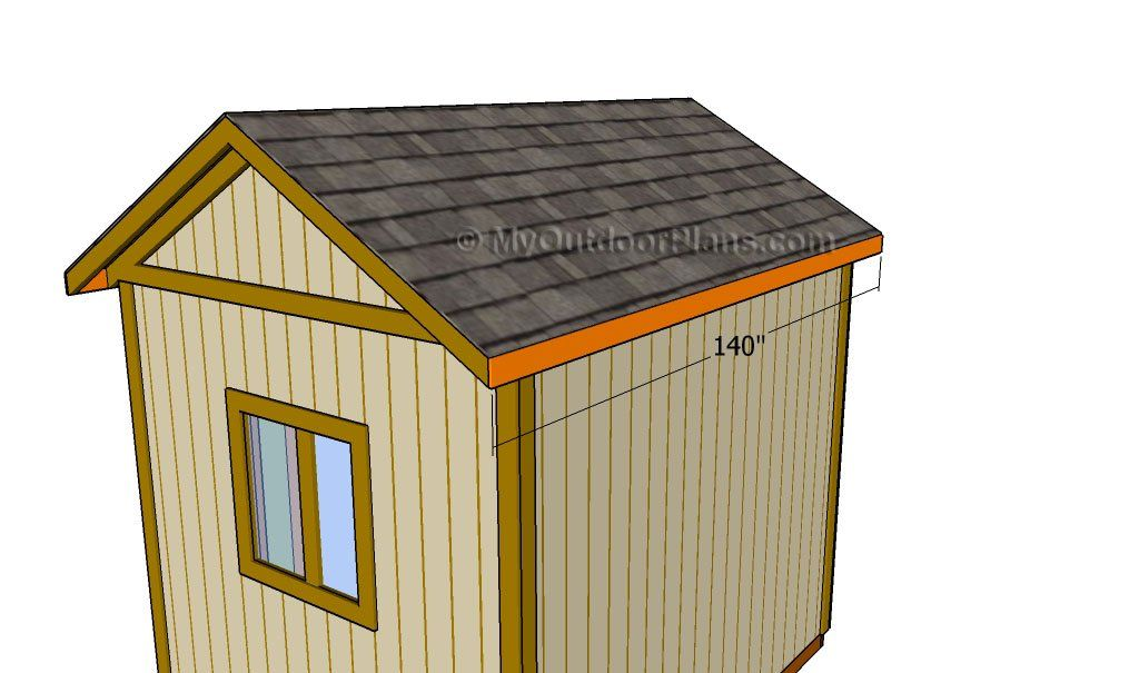 Fitting the trims in 2020 Shed, Diy shed, Building a