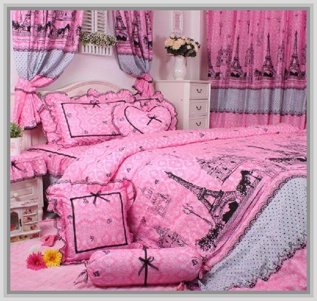 paris bedding set full | Paris Themed Bedding For Teenage ...