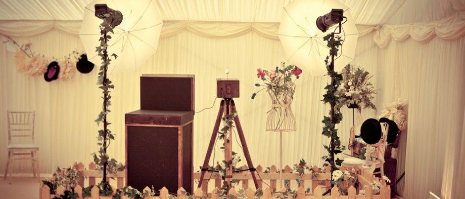 Vintage Garden Set Photo BoothsVintage Wedding