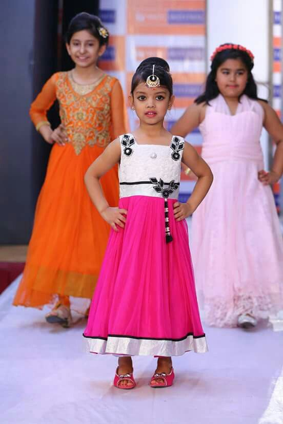 Fashion show vlcc jalandhar cute baby diva