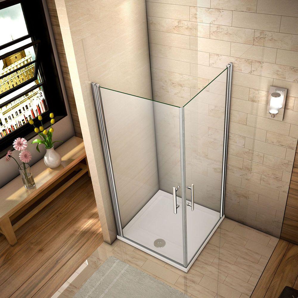 Details zu Duschkabine Eckeinstieg Duschabtrennung Dusche