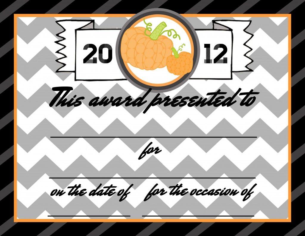 Pumpkin party ideas award free printable pumpkin party ideas pumpkin party ideas award free printable yadclub Images