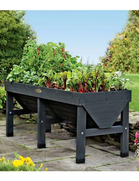 VegTrug Patio Garden Charcoal | Gardener's Supply