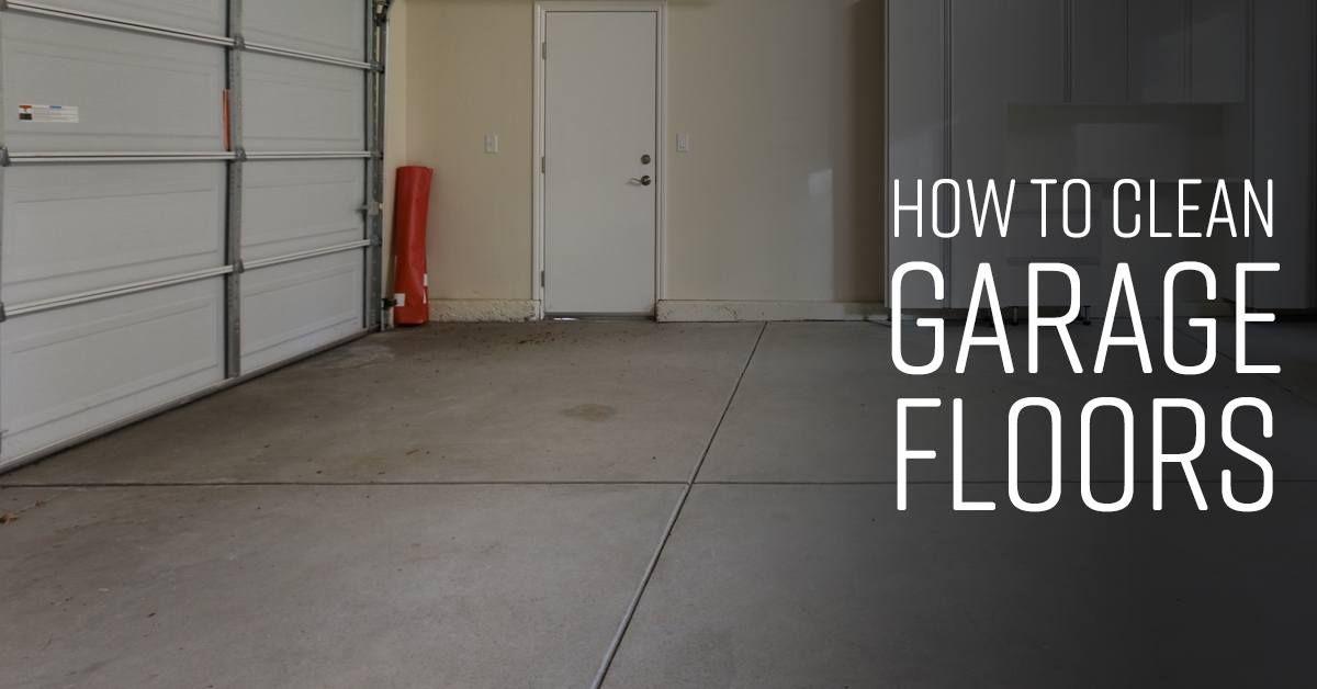 How To Clean Garage Floors Simple Green Clean Garage Floor Clean Garage Cleaning Concrete Floors