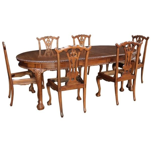 32+ Chippendale dining room table and chairs Tips