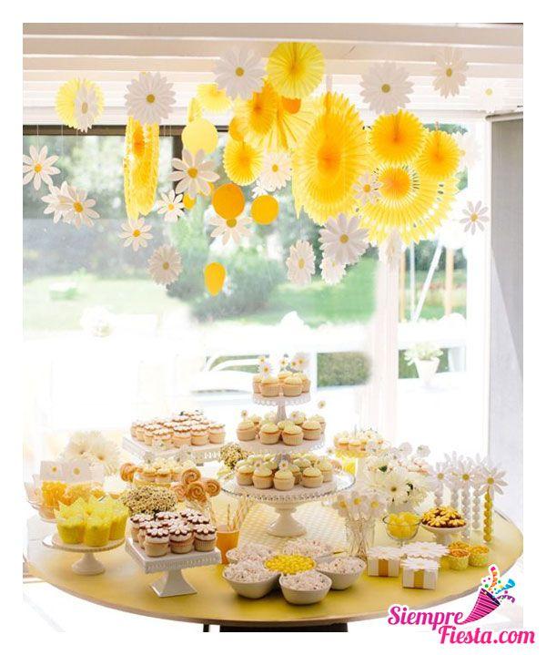 Bonitas ideas para tu pr xima fiesta de tem tica amarilla - Decoracion de habitaciones para adultos ...